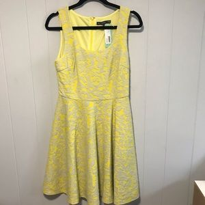 Brixon Ivy for Stitch Fix yellow Fit n flare dress